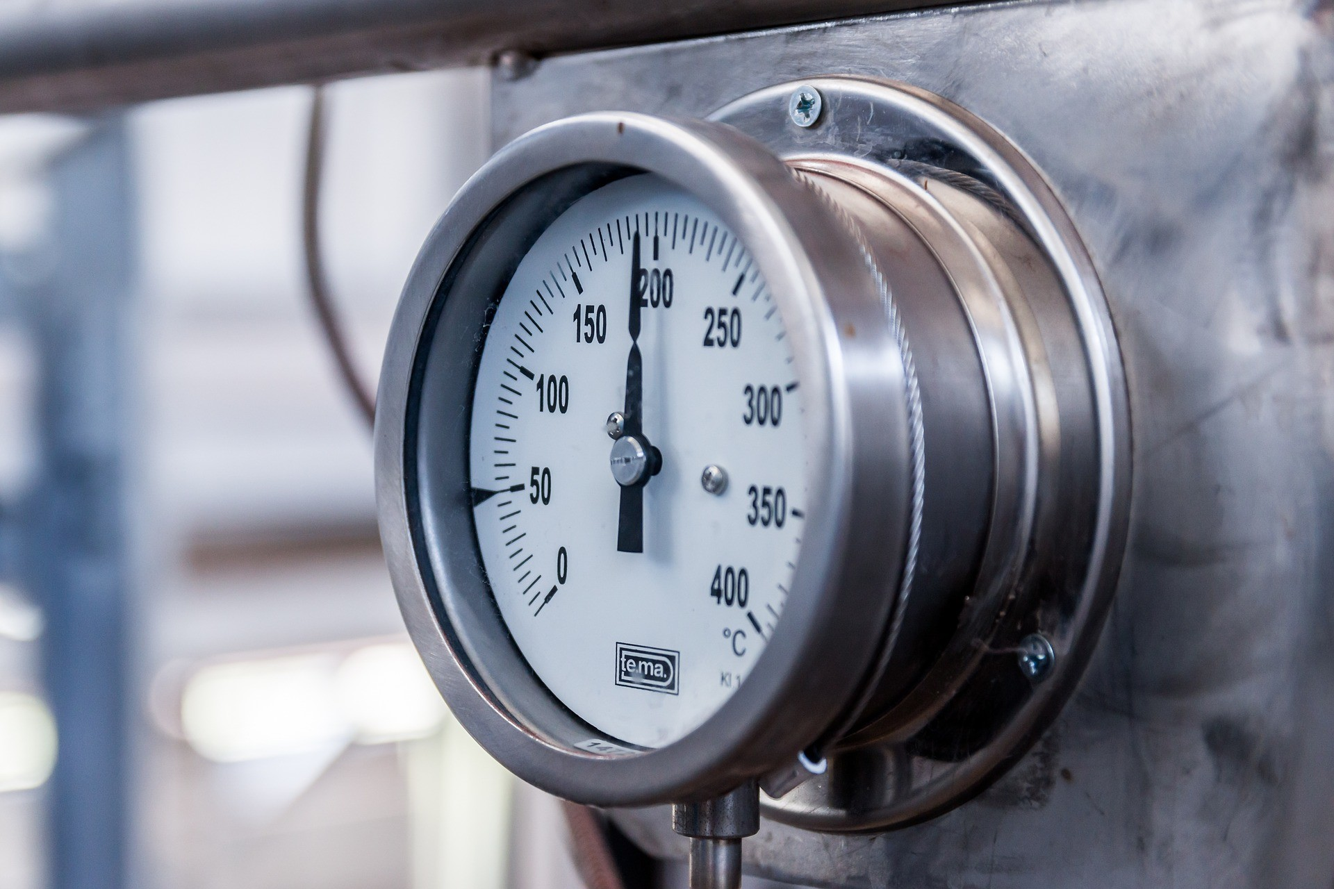 boiler temp gauge
